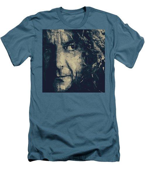 Robert Plant - Led Zeppelin Men's T-Shirt (Athletic Fit)