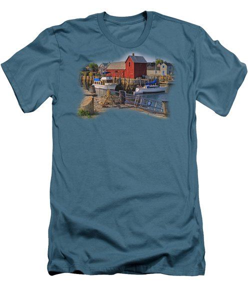 Rockport Waterfront Men's T-Shirt (Athletic Fit)