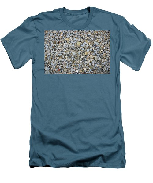 Men's T-Shirt (Slim Fit) featuring the photograph Rocky Beach 1 by Nicola Nobile