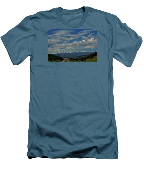 Colorado Rocky Mountain High Men's T-Shirt (Athletic Fit)
