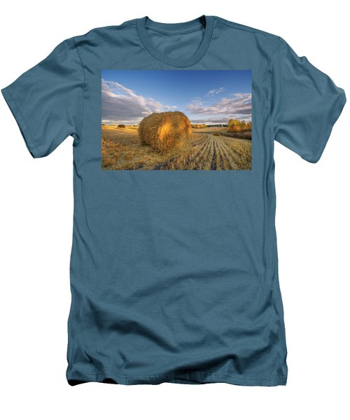 Rolling Hills Men's T-Shirt (Slim Fit) by Dan Jurak