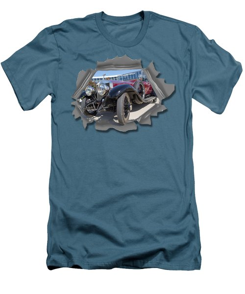 Rolls Out  T Shirt Men's T-Shirt (Slim Fit) by Larry Bishop