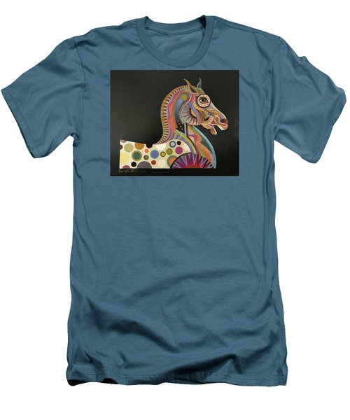 Roman Horse Men's T-Shirt (Athletic Fit)