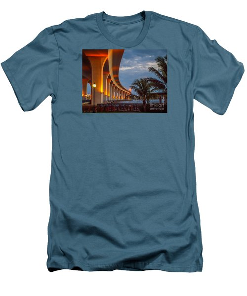 Roosevelt At First Light Men's T-Shirt (Slim Fit) by Tom Claud