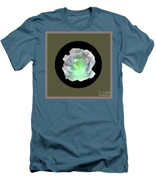 Rose 8-4 Men's T-Shirt (Slim Fit) by John Krakora