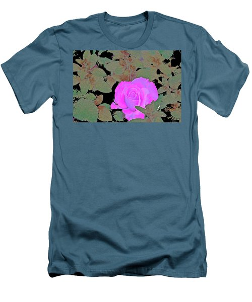 Rose 97 Men's T-Shirt (Slim Fit) by Pamela Cooper