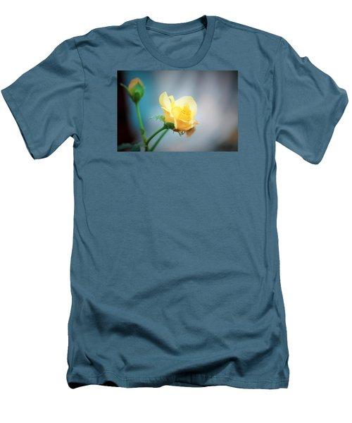 Rose Bling Men's T-Shirt (Athletic Fit)