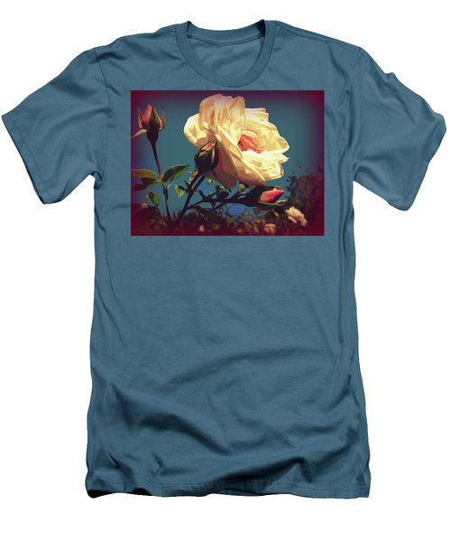 Rose Facing The Sun Men's T-Shirt (Athletic Fit)
