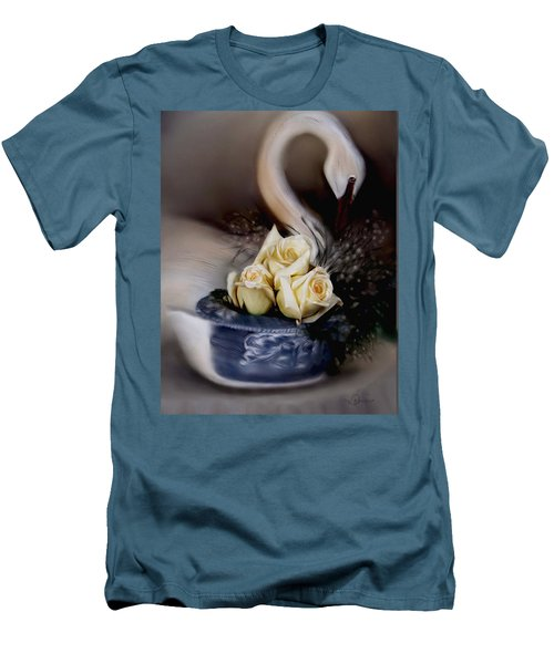 roses for Susan Men's T-Shirt (Athletic Fit)