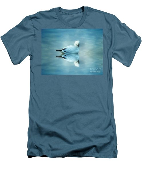 Ross Goose Men's T-Shirt (Slim Fit) by Suzanne Handel