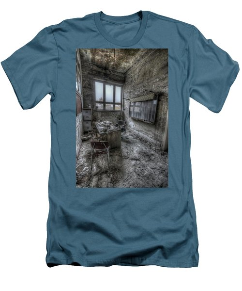 Men's T-Shirt (Slim Fit) featuring the digital art Rotten Office by Nathan Wright