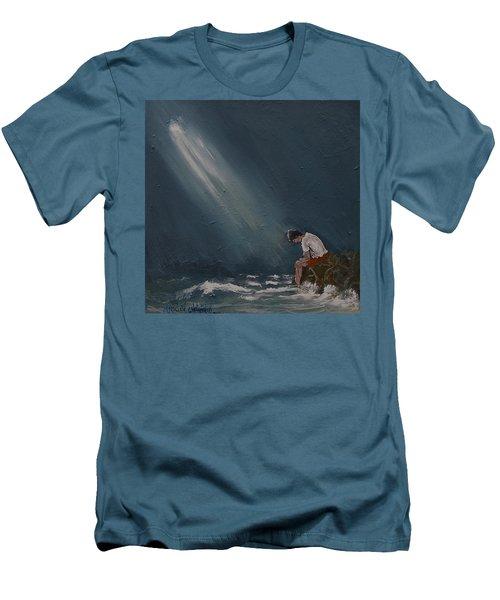 Rough Day Men's T-Shirt (Athletic Fit)