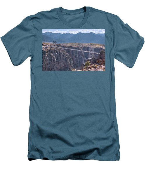 Royal Gorge Bridge Colorado Men's T-Shirt (Slim Fit) by James BO Insogna