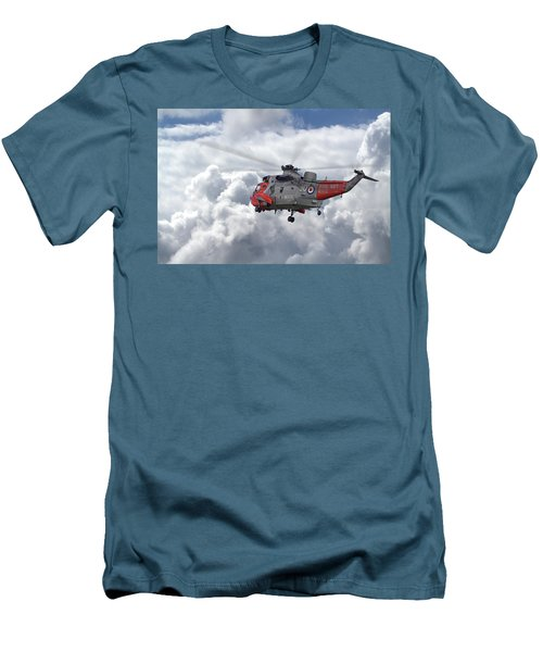 Men's T-Shirt (Slim Fit) featuring the photograph Royal Navy - Sea King by Pat Speirs