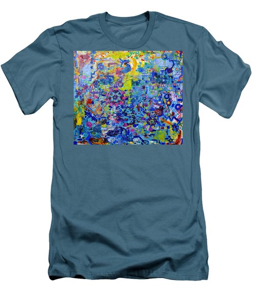 Rube Goldberg Abstract Men's T-Shirt (Athletic Fit)