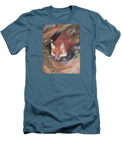 Rudy Adult Men's T-Shirt (Slim Fit) by Marika Evanson