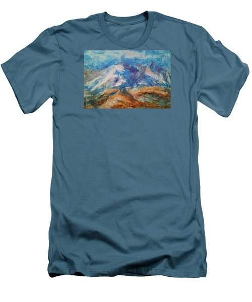 Rugged Terrain Men's T-Shirt (Slim Fit) by Becky Chappell