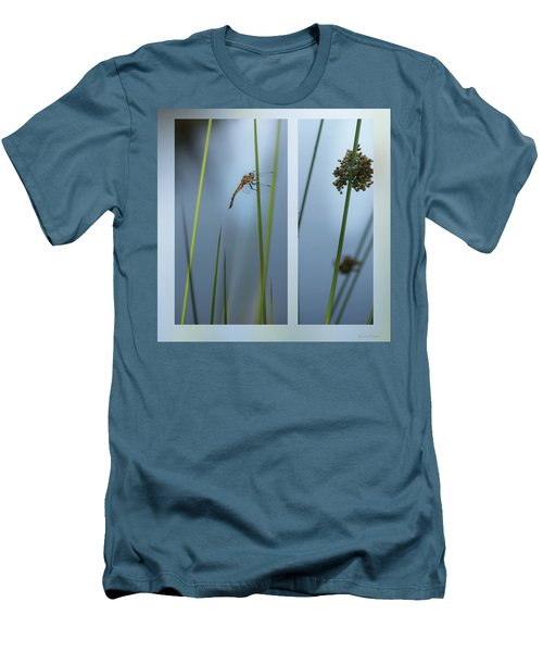 Rushes And Dragonfly Men's T-Shirt (Athletic Fit)