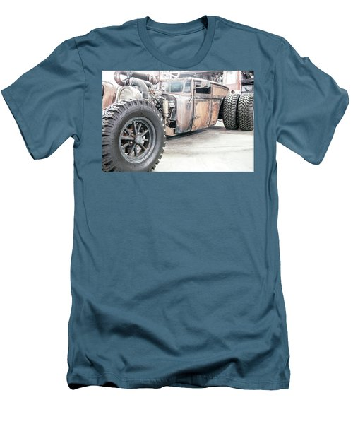 Rusty Crusty With Power Men's T-Shirt (Athletic Fit)
