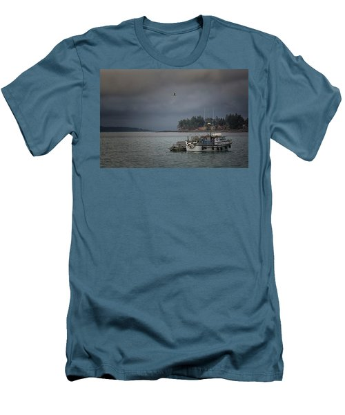 Men's T-Shirt (Slim Fit) featuring the photograph Ryan D by Randy Hall