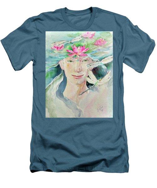Sacred Awakening Men's T-Shirt (Athletic Fit)
