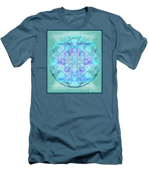 Men's T-Shirt (Slim Fit) featuring the digital art Sacred Symbols Out Of The Void 3b1 by Christopher Pringer
