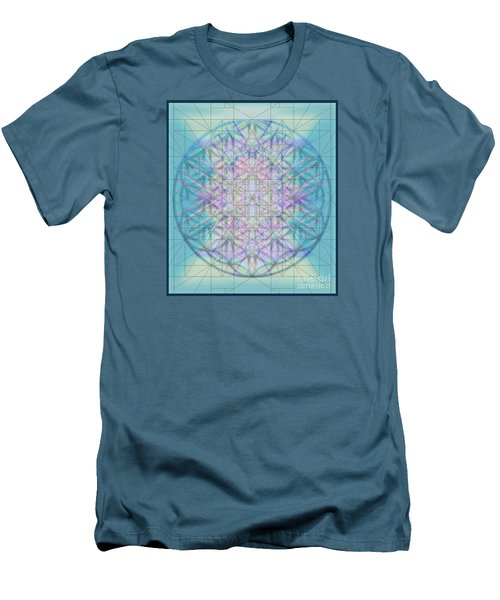 Men's T-Shirt (Slim Fit) featuring the digital art Sacred Symbols Out Of The Void 4b by Christopher Pringer