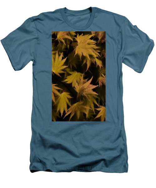 Japanese Autumn  Men's T-Shirt (Slim Fit) by Mike Nellums