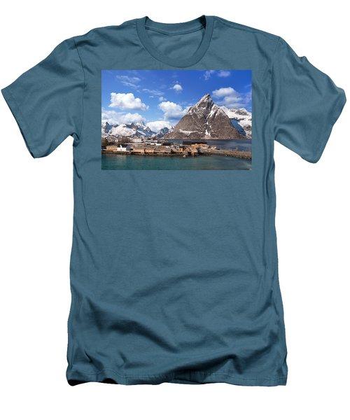 Sakrisoy Men's T-Shirt (Slim Fit) by Alex Conu