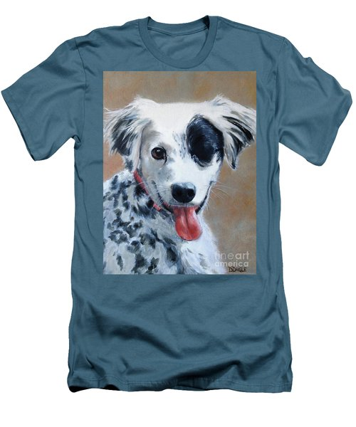 Sally Men's T-Shirt (Slim Fit) by Diane Daigle