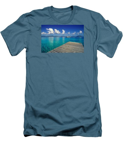 Salt Island Ancorage Men's T-Shirt (Athletic Fit)