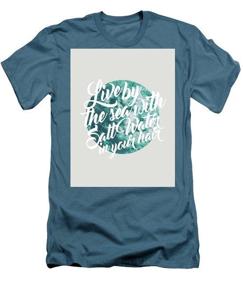 Salt Water Men's T-Shirt (Athletic Fit)
