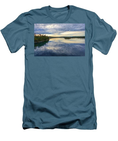 Sambro Basin I Nova Scotia Men's T-Shirt (Athletic Fit)