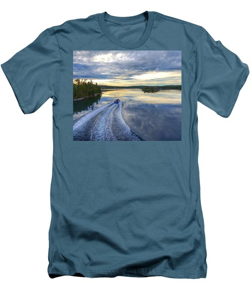 Sambro Basin II Nova Scotia Men's T-Shirt (Athletic Fit)