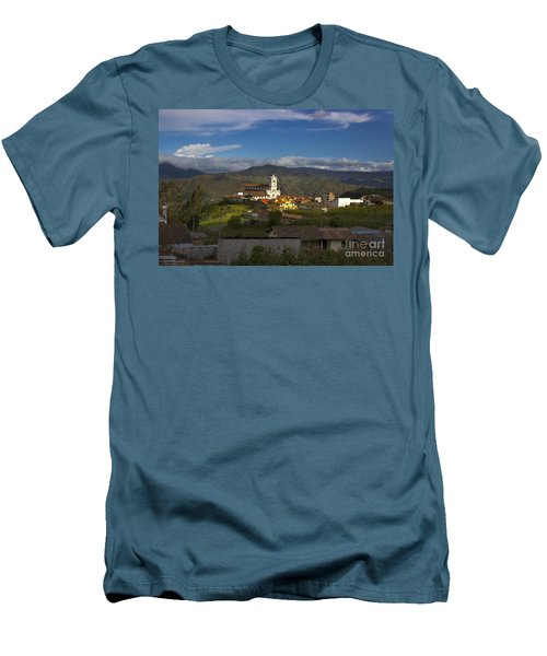 San Bartolomeo Is Famous For It's Guitars Men's T-Shirt (Athletic Fit)