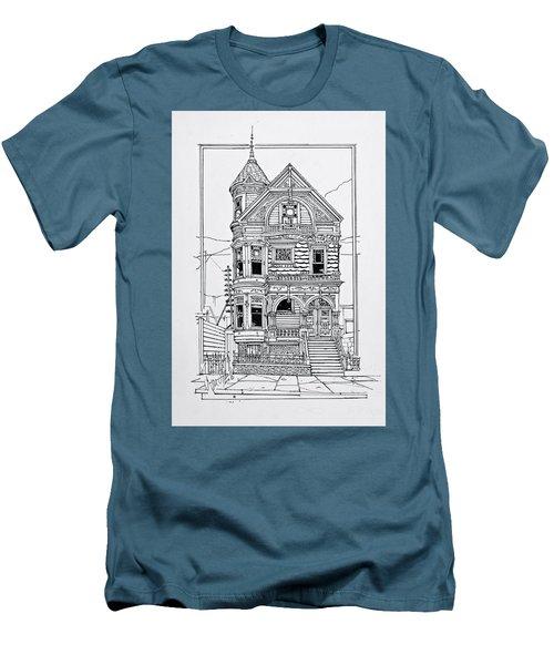 San Francisco Victorians  Men's T-Shirt (Athletic Fit)