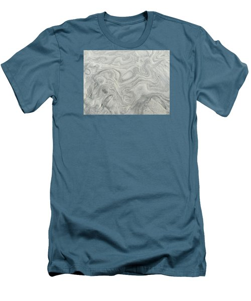 Sand Sculpture Men's T-Shirt (Athletic Fit)