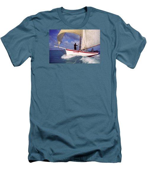 Aunt Stella Men's T-Shirt (Athletic Fit)