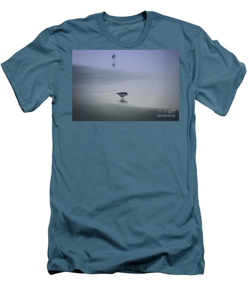 Sanderling Men's T-Shirt (Slim Fit) by Sheila Ping