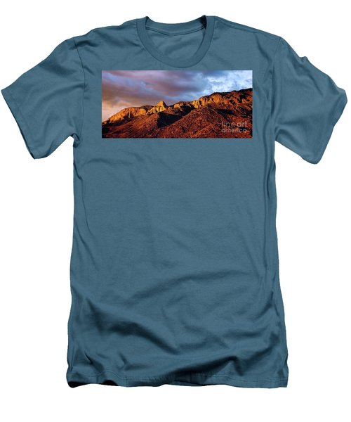 Men's T-Shirt (Slim Fit) featuring the photograph Sandia Beauty by Gina Savage