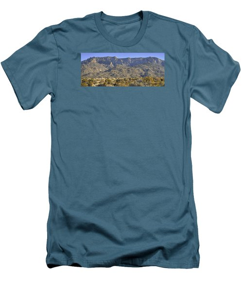 Sandia Mountain Panorama Men's T-Shirt (Athletic Fit)