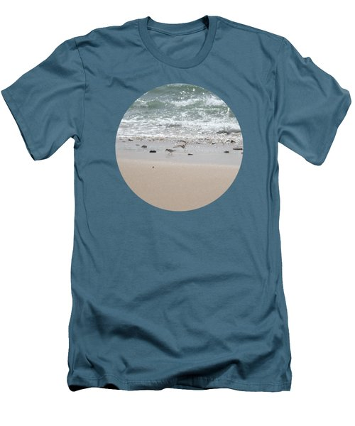 Sandpipers In Tideland Men's T-Shirt (Athletic Fit)