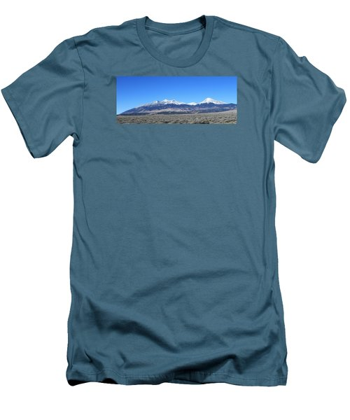 Sangre De Cristo Range Men's T-Shirt (Slim Fit) by Christopher Kirby