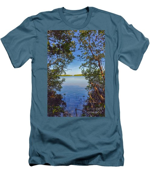 Sanibel Bay View Men's T-Shirt (Athletic Fit)