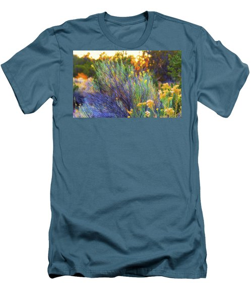 Men's T-Shirt (Slim Fit) featuring the photograph Santa Fe Beauty by Stephen Anderson