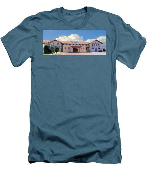 Santa Fe Depot In Amarillo Texas Men's T-Shirt (Athletic Fit)
