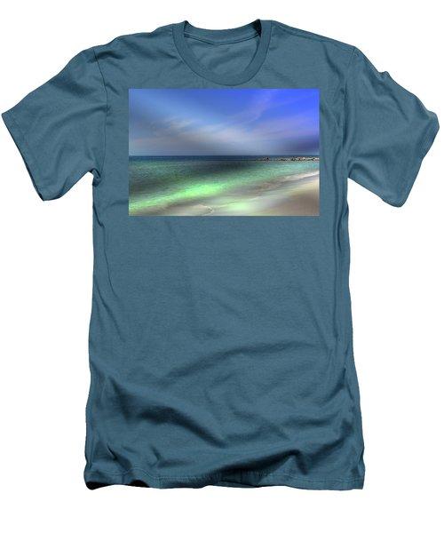 Sarasota Ocean  Men's T-Shirt (Athletic Fit)