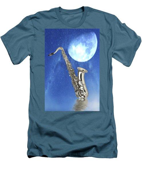 Saxophone Men's T-Shirt (Athletic Fit)