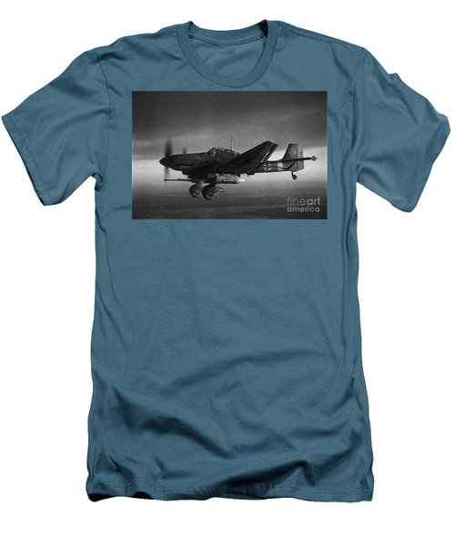 Ju87g-2 Kanonenvogel Men's T-Shirt (Athletic Fit)