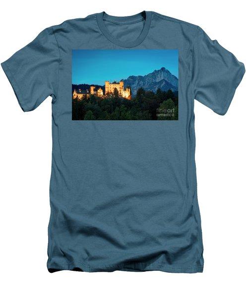 Men's T-Shirt (Slim Fit) featuring the photograph Schloss Hohenschwangau by Brian Jannsen